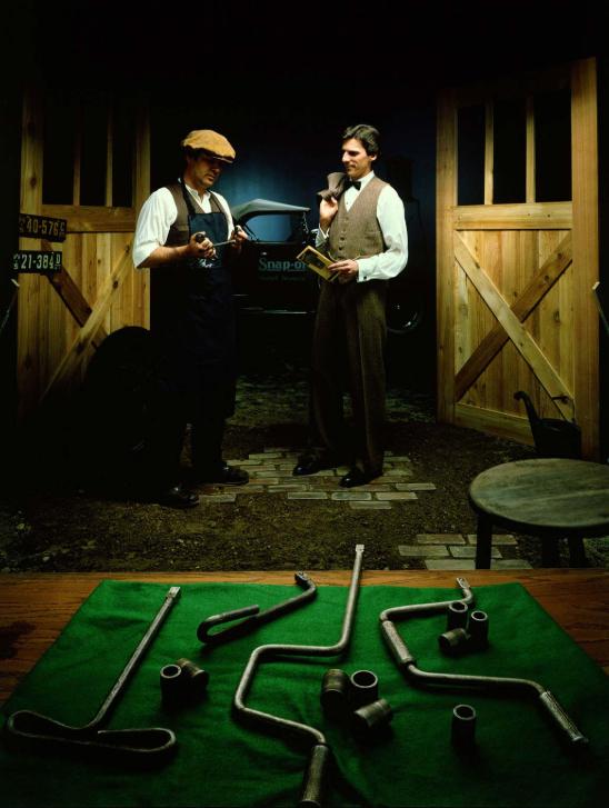 Schlüssel und Nüsse