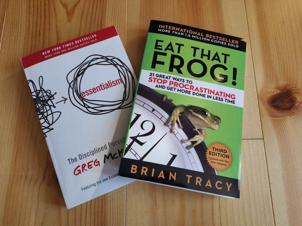 Essentialism und Eat that Frog. Mein Lesestoff im Januar 2021
